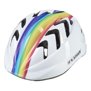 Fluid Noggin II Unicorn Bike Helmet
