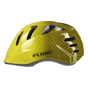 Fluid Noggin II Bright Yellow Bike Helmet