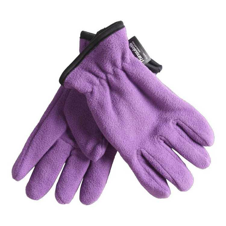 37 Degrees South Kid's Fleece Gloves Amaranth