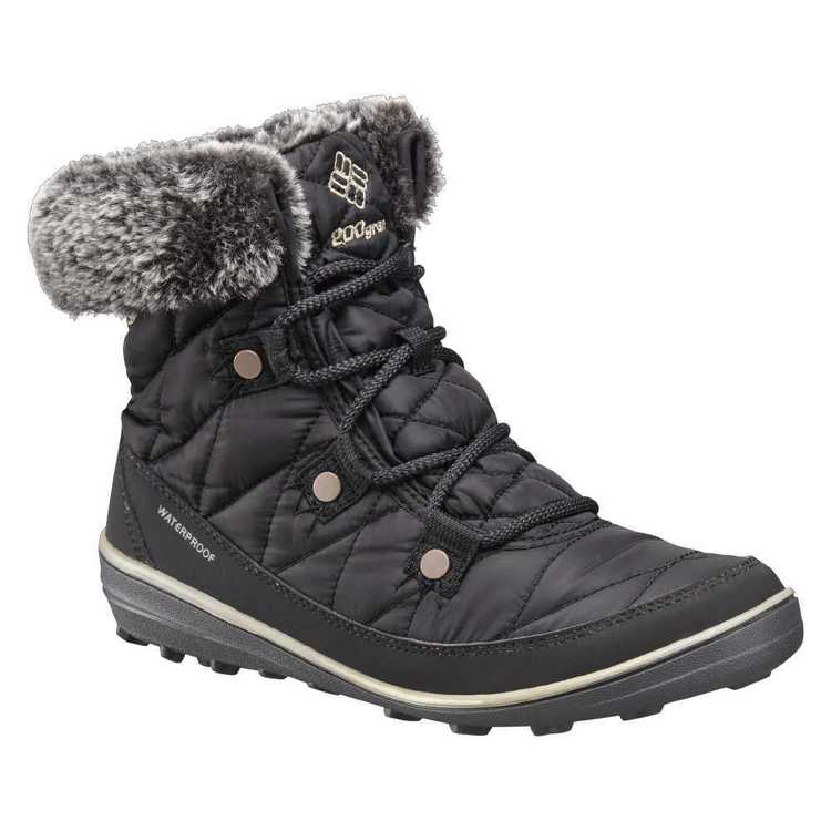 Columbia Women's Heavenly Shorty Snow Boots Black Kettle