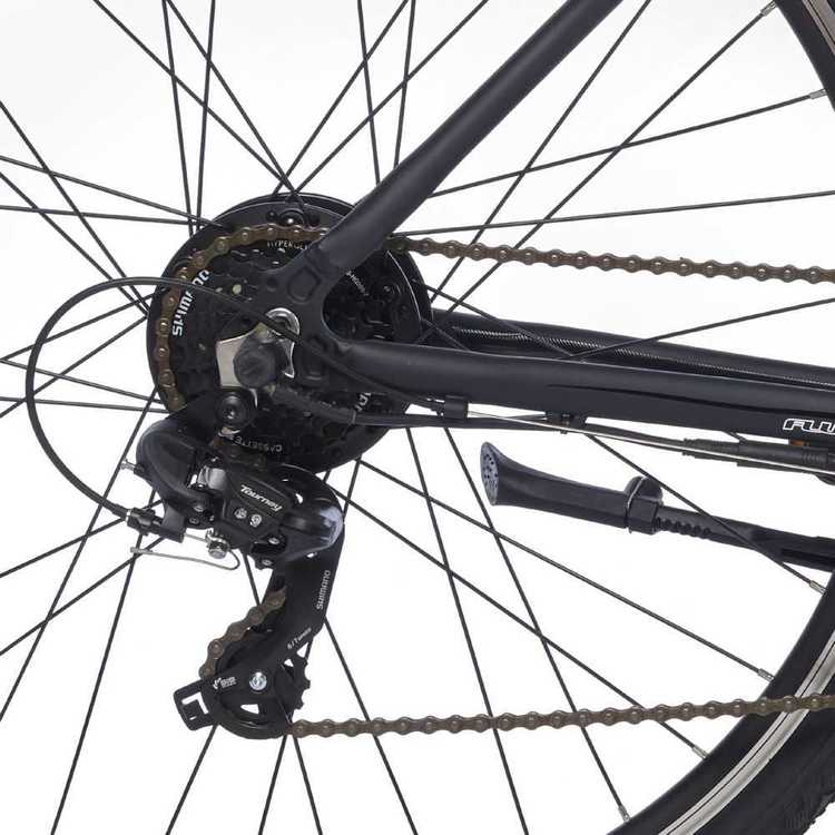 Fluid Bolt Commuter E-Bike Storm Black