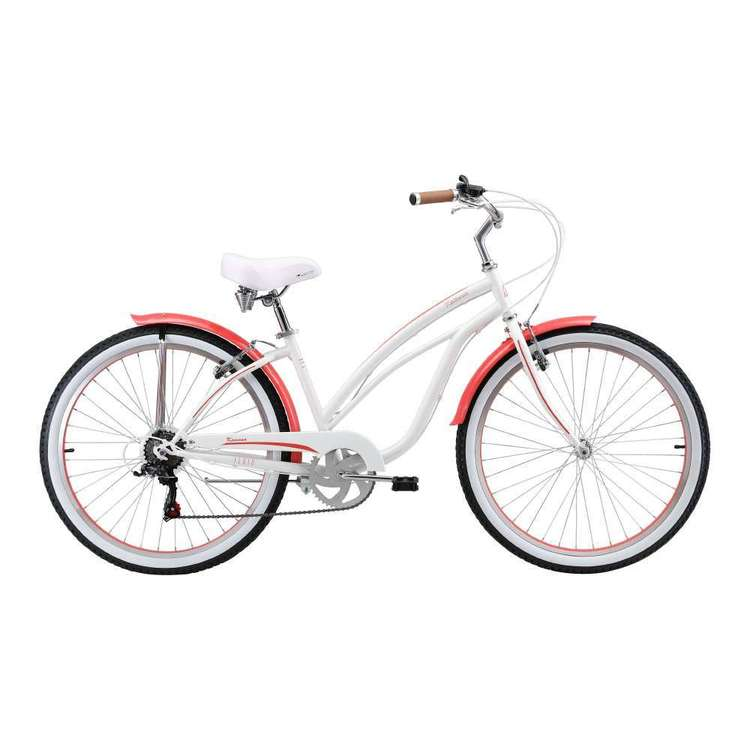 Fluid Women's Kawana Beach Cruiser Pearl & Coral 26 in