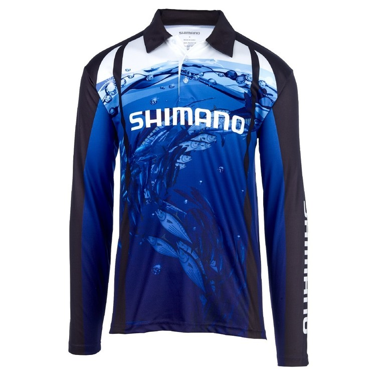 Shimano Underwater Sublimated Polo Shirt