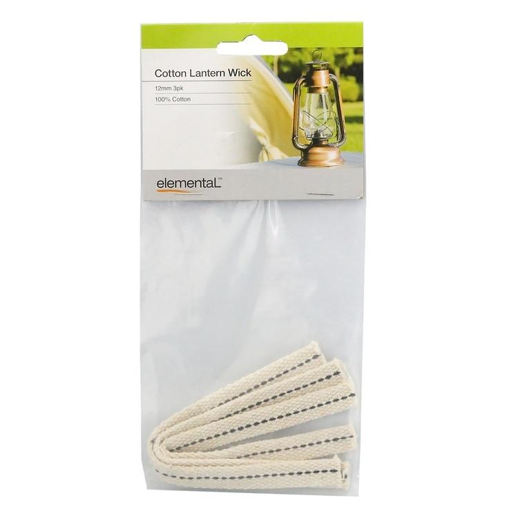 Elemental Cotton Lamp Wick 3 Pack