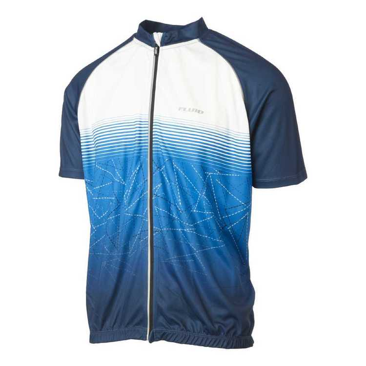 Fluid Pro Peleton Jersey Midnight Blue