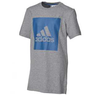 adidas Boy's Essential Logo Short Sleeve Tee