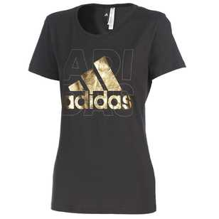 adidas Women's Logo Short Sleeve Tee