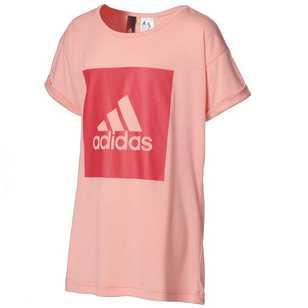 adidas Essentials Logo Loose Short Sleeve Tee
