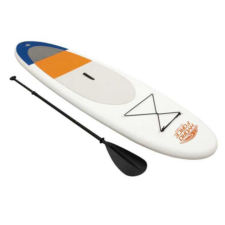Bestway High Wave Inflated Paddleboard White 9 ft 4 in