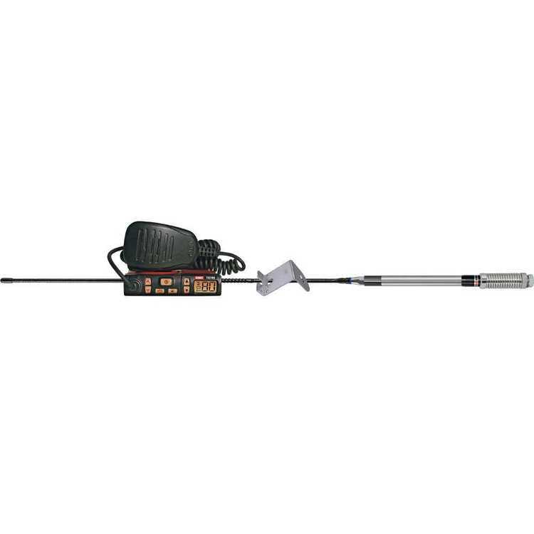 GME UHF 2 Way CB Radio Starter Kit