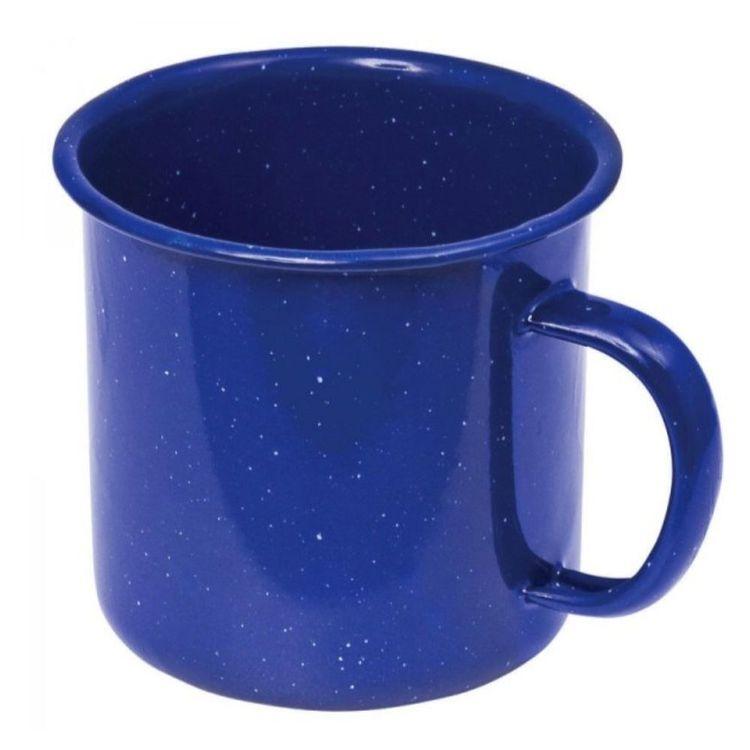 Campfire Enamel 8 cm Mug