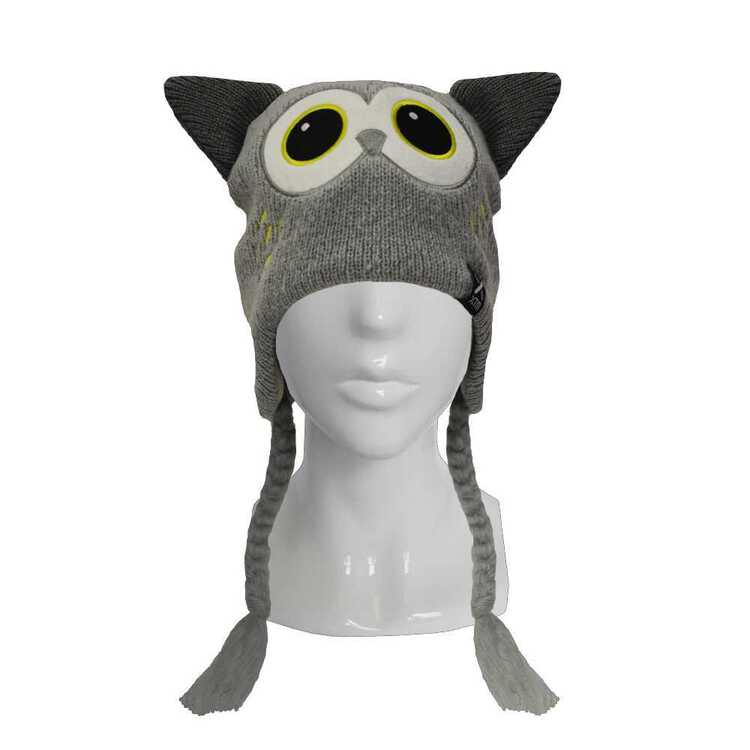 XTM Kids' Zoolander Owl Beanie Owl One Size Fits Most