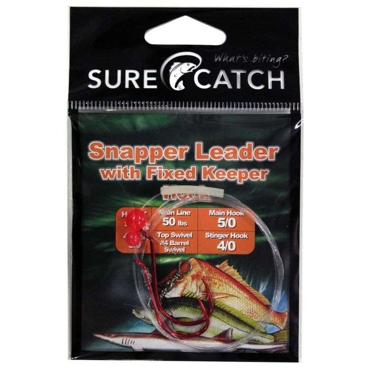 SureCatch Snapper Rig With Fixed Hook