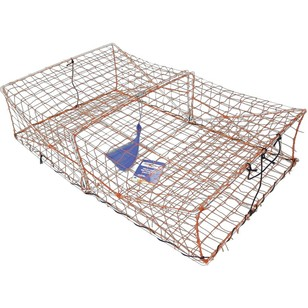 Wilson Large Galvanised Crab Trap