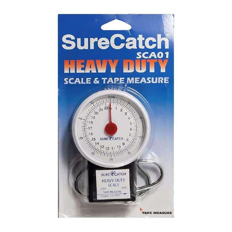 SureCatch Heavy Duty Scale & Tape Measure
