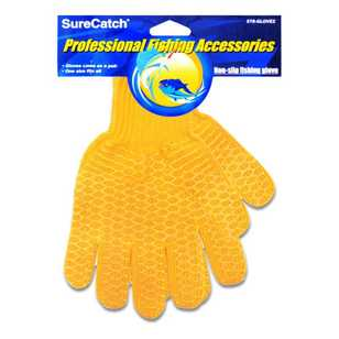 SureCatch Non Slip Lattice Fishing Gloves