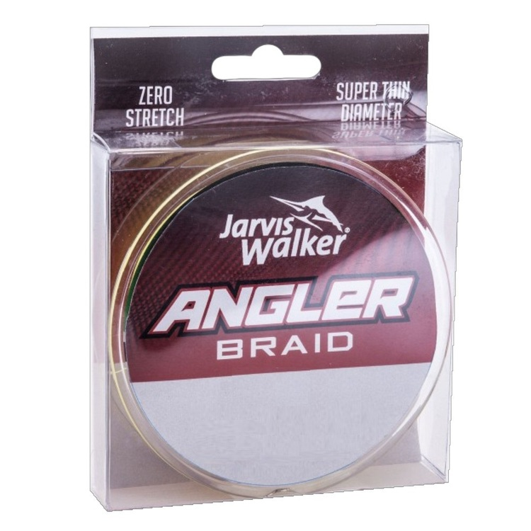 Jarvis Walker Angler Braid Chartreuse 150 Yards Fishing Line
