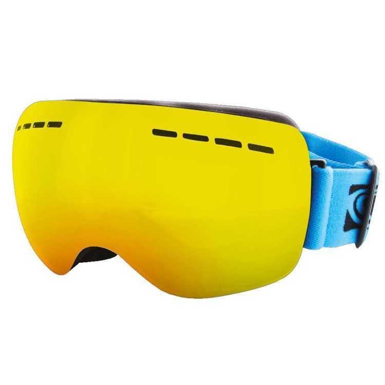 Carve Adults' Titanium Snow Goggles