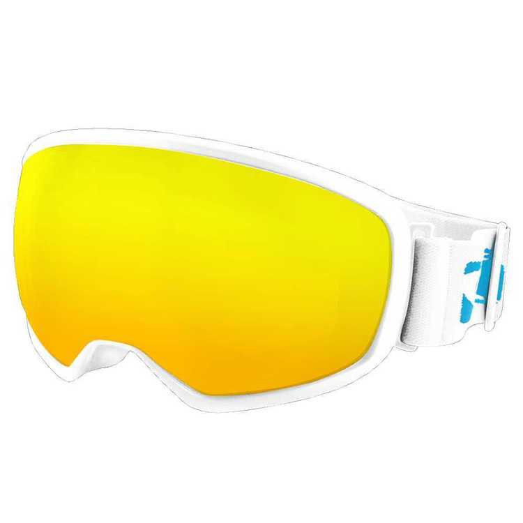 Carve Adults' Fast Track Snow Goggles Matt White