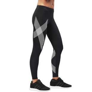 2XU Women's Striped Compression Long Tights