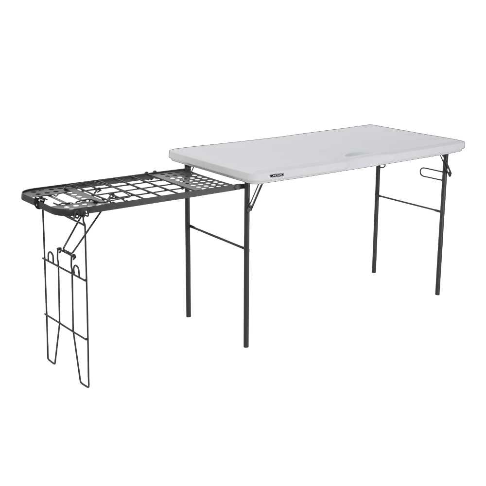 New Lifetime Camp Table With Stove Stand By Anaconda