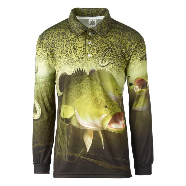 Bigfish Cod Skin Sublimated Polo Shirt