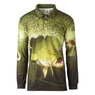 Bigfish Cod Skin Sublimated Polo Shirt