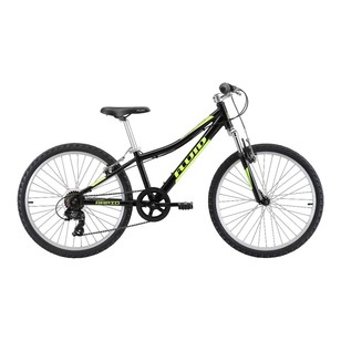 Fluid Rapid 24 inch Black With Slime Mountain Bike