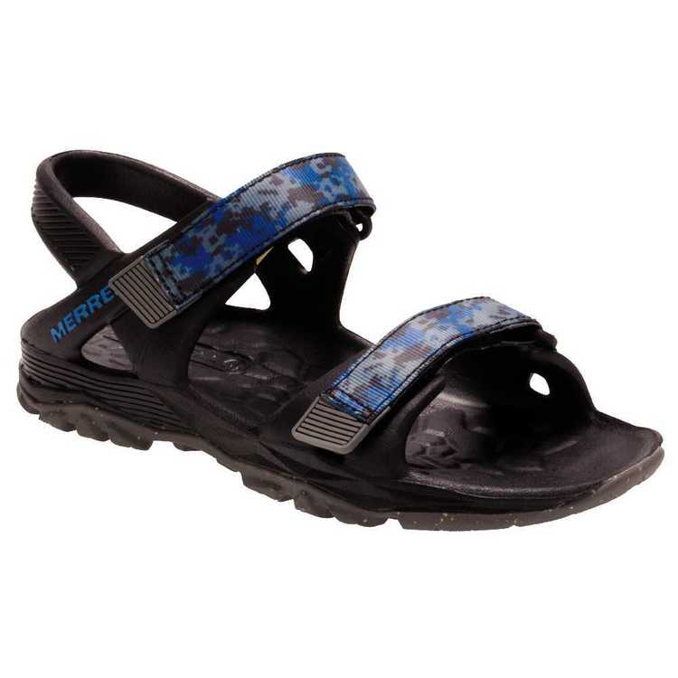 Merrell Boy's Hydro Drift Sandals Black & Navy