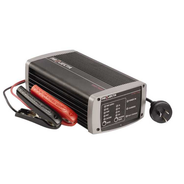 Projecta Automatic 12V 10A 7 Stage Battery Charger