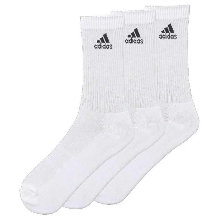 adidas Adults' 3 Stripe Performance Ankle Cushion Socks