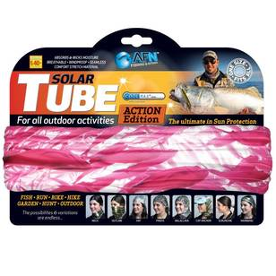 Australian Fishing Network Pink Bait Ball Solar Tube