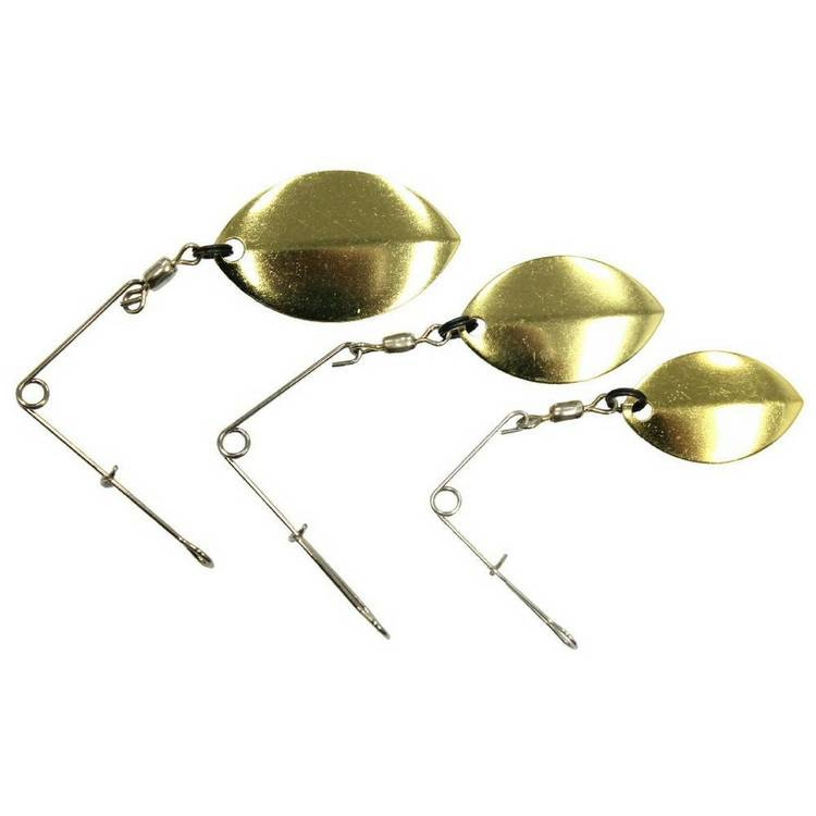 Tackle Tactics Tribe Olympic Jig Spinner Pack