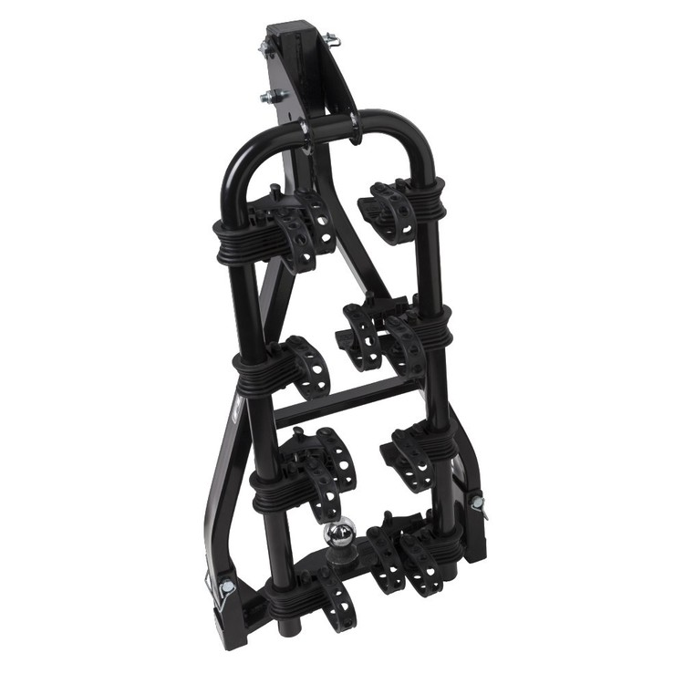 Fluid A-Frame 4 Bike Carrier With Anti-Sway Black