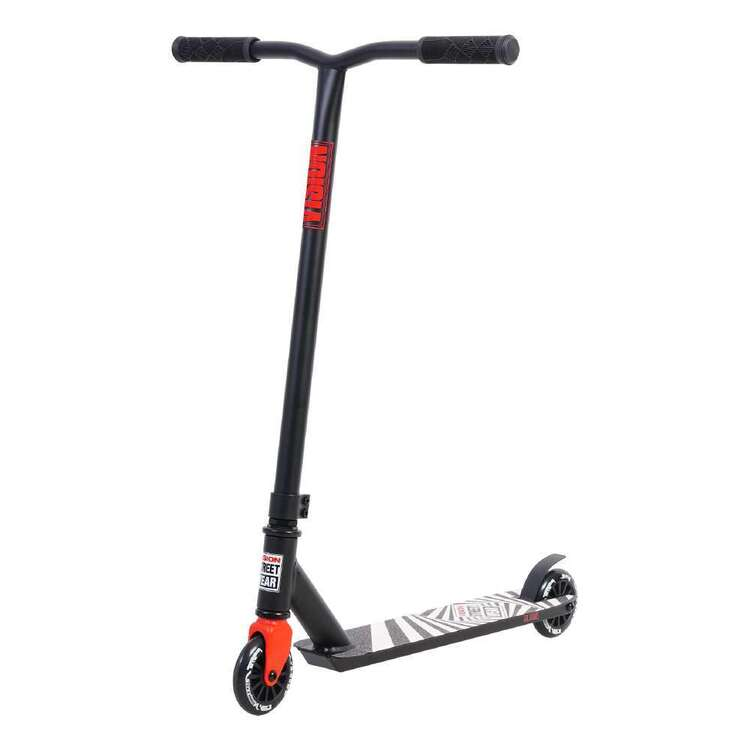 Vision Street Wear Junior Whip Scooter Black & Red