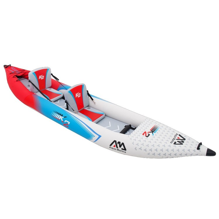 Aqua Marina Betta VT-K2 Inflatable Kayak Red, Blue & White 13 ft 6 in