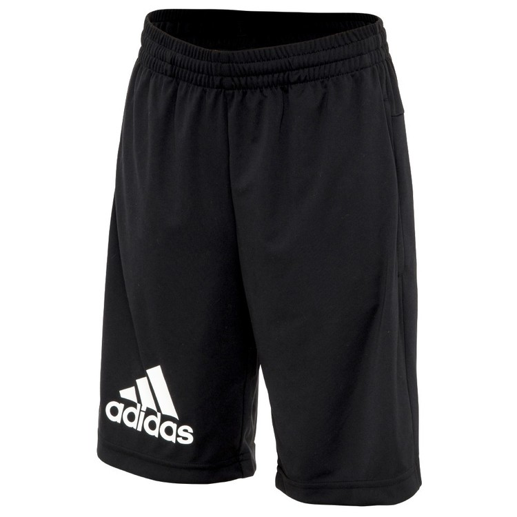 adidas Boy's Gear Up Shorts Black & White