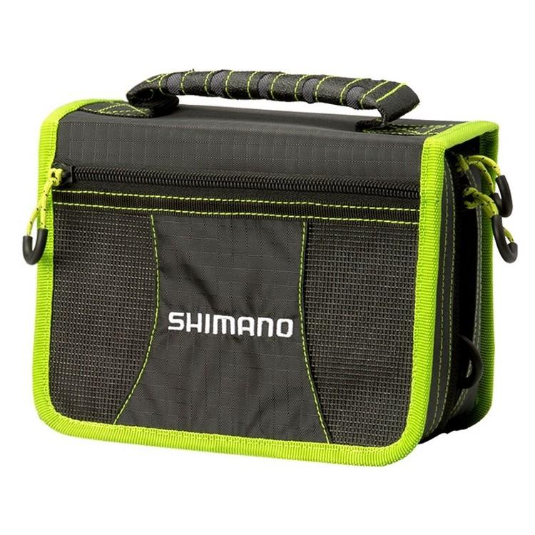Shimano Tackle Wallet With Tackle Box 10 Sleeves