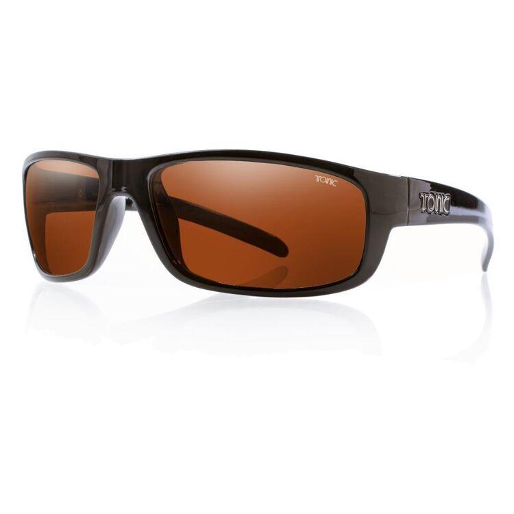 Tonic Bono Sunglasses Shiny Black & Photochromic Copper