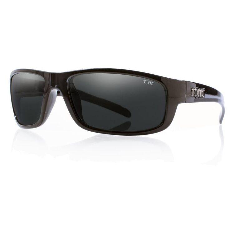 Tonic Cove Sunglasses Shiny Black & Photochromic Grey