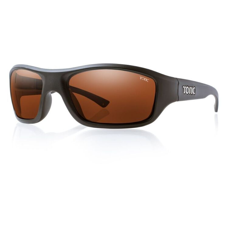 Tonic Evo Sunglasses Matte Black & Photochromic Copper