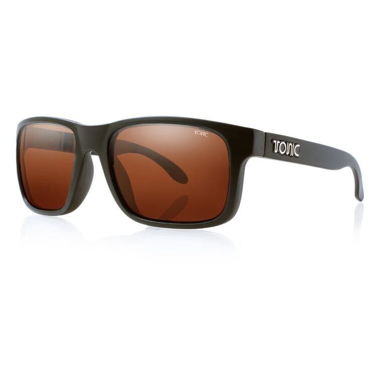 Tonic Mo Sunglasses Matte Black & Photochromic Copper