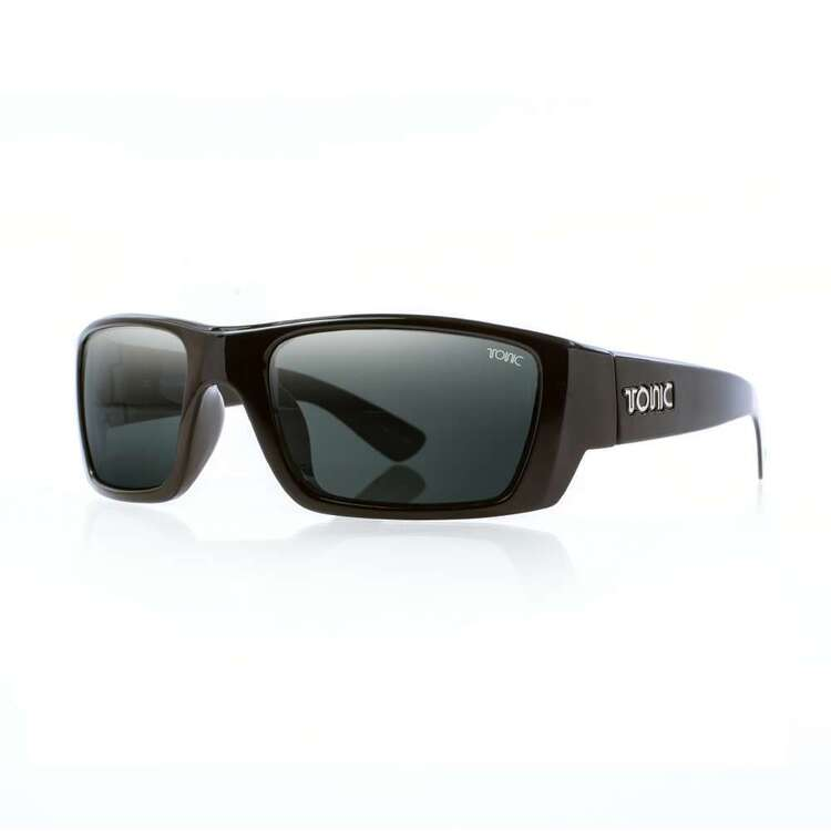Tonic Rise Sunglasses Shiny Black & Photochromic Grey