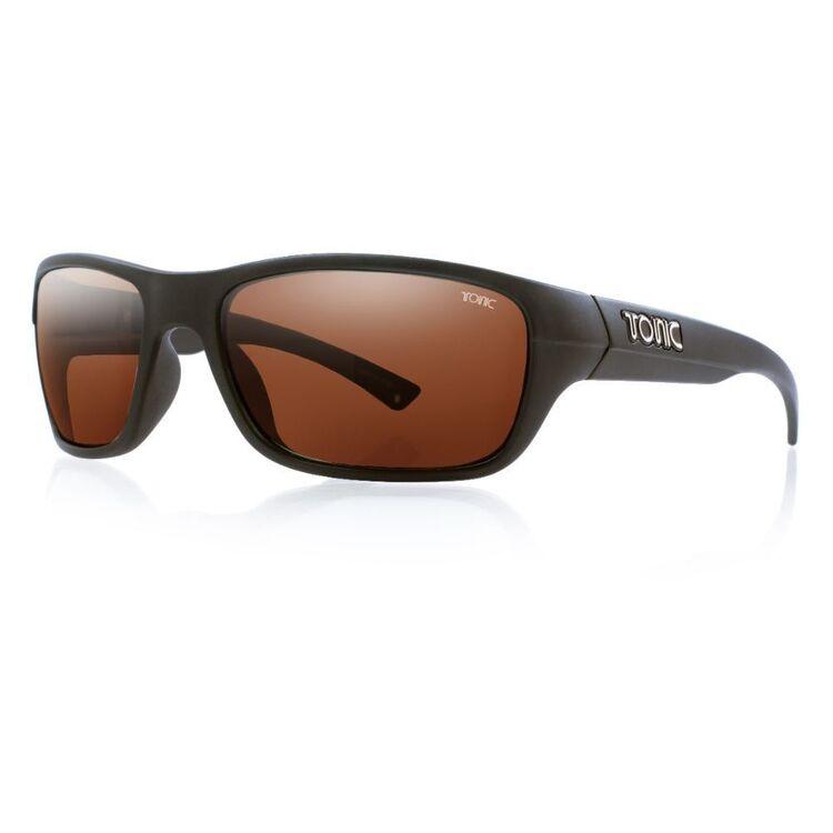 Tonic Rush Sunglasses Matte Black & Photochromic Copper