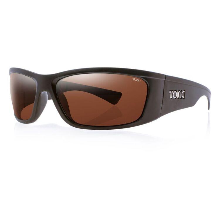 Tonic Shimmer Sunglasses Matte Black & Photochromic Copper