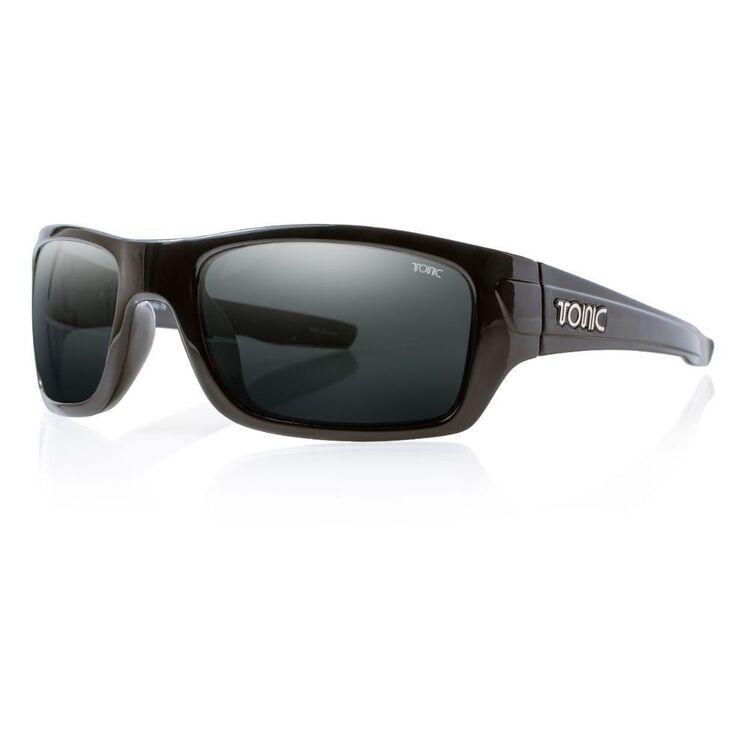 Tonic Trakker Sunglasses Shiny Black & Photochromic Grey