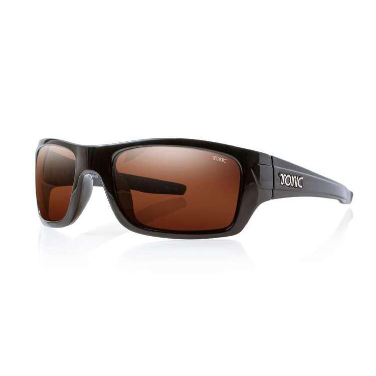 Tonic Trakker Sunglasses Shiny Black & Photochromic Copper