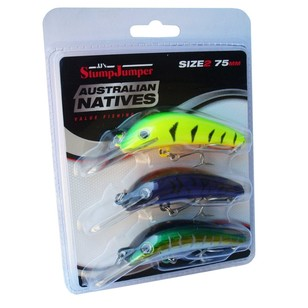 StumpJumper Native Lure 3 Pack