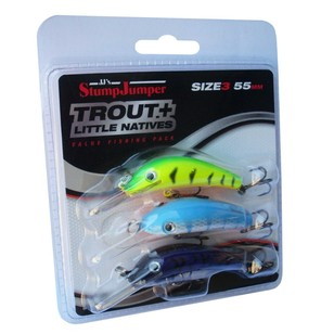 StumpJumper Trout & Little Natives Lure 3 Pack