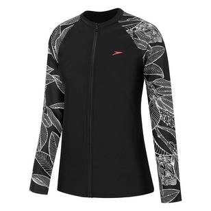 Speedo Women's E10 Zip Up Long Sleeve Sun Top